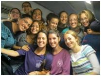 בנות גרעין לוד ברכבת