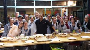 הצוות של עמינדב בפעילות מאסטר שף