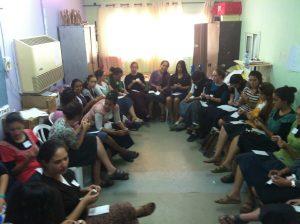 בנות גרעין נתניה ביחידה בסמינריון היישובי