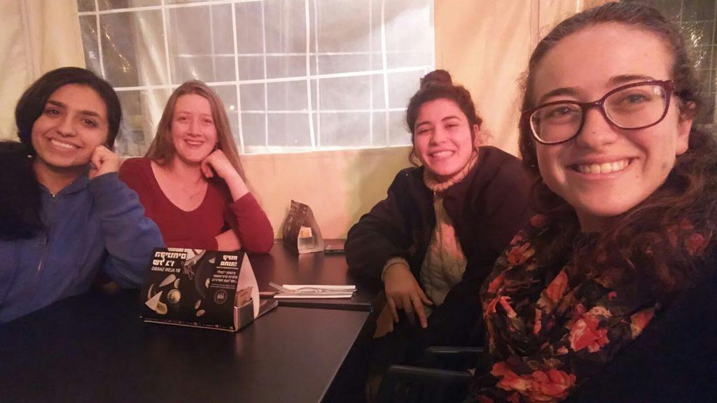 בנות גרעין אומץ מבשרת ציון