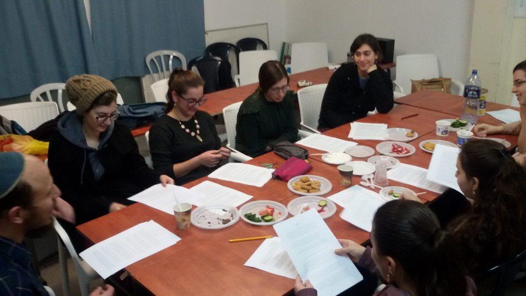 למידה באווירה נעימה- מדרשת הדר חיפה