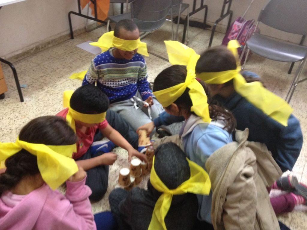 ילדי עמותת קדימה אור יהודה בפעילות מהנה