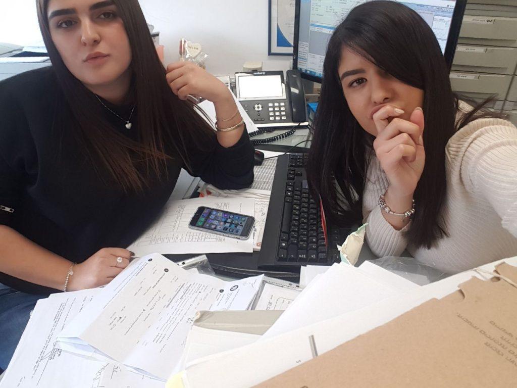 בנות השירות בביטוח לאומי אשקלון