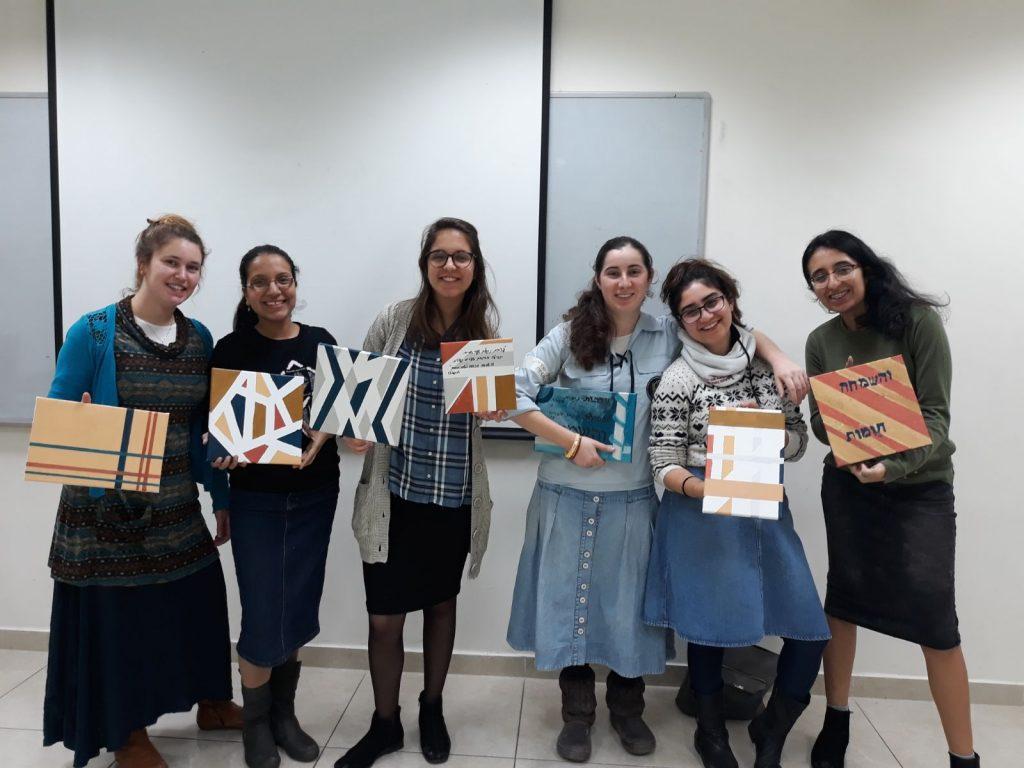 בנות השירות של מרכז לזהות יהודית מורשתנו