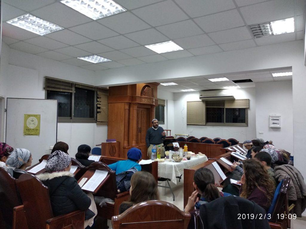 בנות מדרשת באורך חיפה