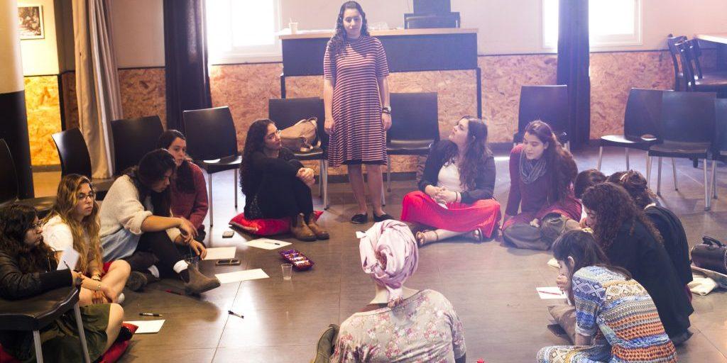 פעילות של המחלקה הסוציאלית עם בנות השירות